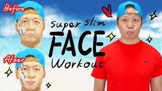 【1日1回】5分で100%顔やせ❤️二回り小顔になるたるみ引き締め体操❤️