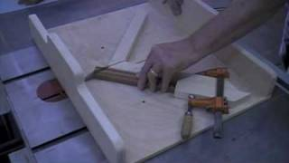 Woodworking - How To Make A Perfect Miter Joint - Table Saw Miter Sled Tips & Techniques