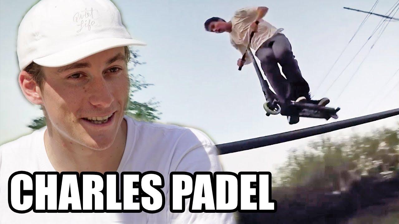 CHARLES PADEL, l'un des meilleurs TROTIRIDERS au monde ! (Trottinette Freestyle)