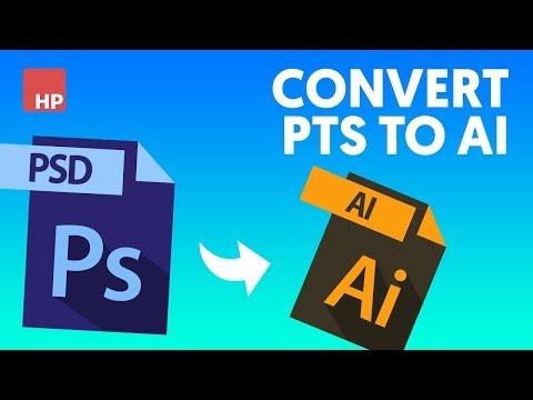📷 Chuyển File Thiết Kế Photoshop Thành AI | HPphotoshop.com