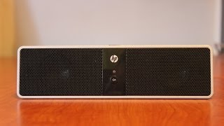 HP Portable USB Speaker Review