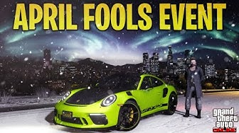 GTA 5 Online APRIL FOOLS Event + What Rockstar is Doing Going Forward