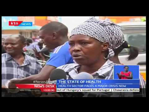 State of the Nation: Major crisis in health care sector