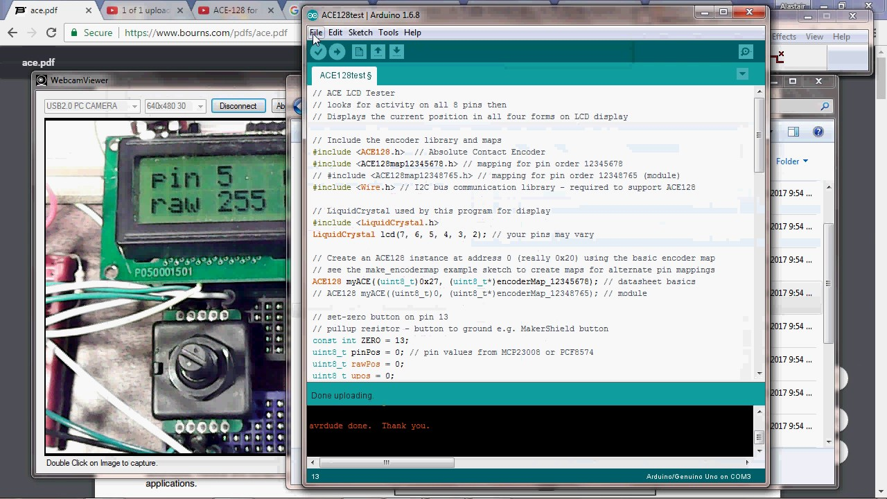 High Resolution Absolute Encoder - Arduino & Pi | Hackaday io