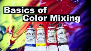 Basics of Color Mixing | Oil Painting For Beginners