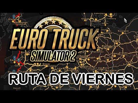 🔴 Euro Truck Simulator 2 #57 Ruta De Viernes Gameplay Directo Vivo Español Multiplayer TrackIR