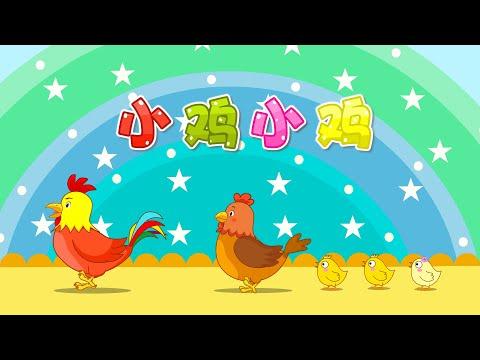 【國語兒歌】小雞小雞 童年經典 兒歌童謠 幼兒早教啟蒙 貝樂虎 BabyTiger
