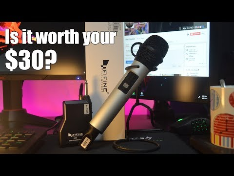 Budget but awesome audio wireless microphone!