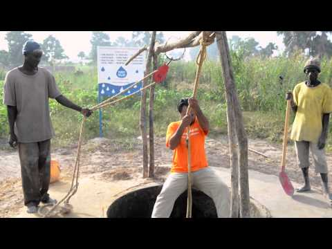 See how we build wells to provide clean water