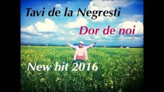 Tavi de la Negresti - Dor de noi ( New Hit 2016 )