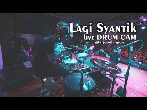 Lagi Syantik | Ska Reggae | Drum Cam Live Arjowilangun