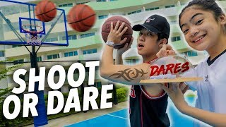 Make The Shot, Or Do A Dare Challenge!!  | Ranz and Niana