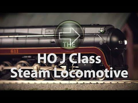 MTH Electric Trains HO Norfolk & Western J Class Steam Locomotive