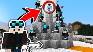 10 DANTDM's vs 1 NOOB! (Minecraft Murder Mystery Challenge) with PrestonPlayz