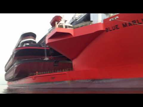 MV Blue Marlin in Europoort Rotterdam part1