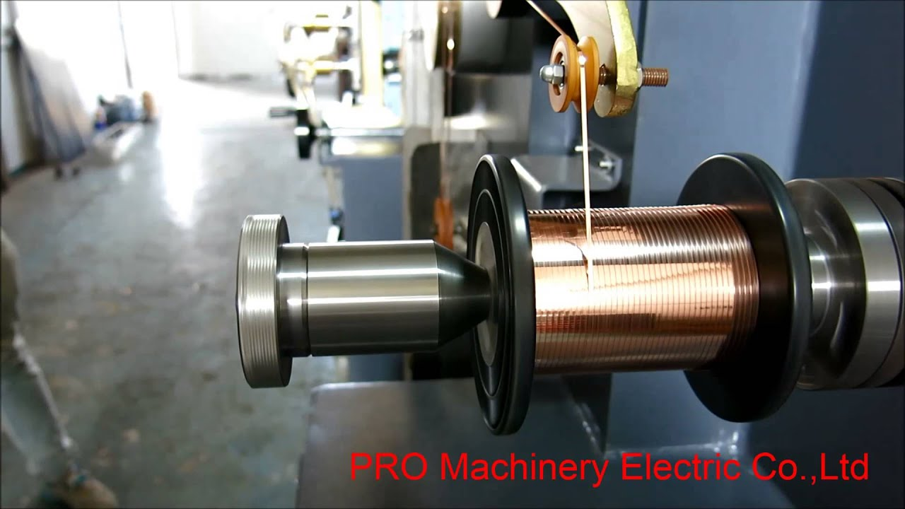 Pro 250d Copper Wire Pv Ribbon Rolling Machine With