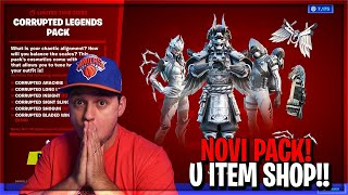 🔴NOVI PACK U ITEM SHOP!!!! IDEMO DO LEVEL 175 DANAS!!!