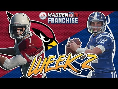 108 POINTS!!!!! INSANE GAME Madden 18 Colts Franchise Mode Week 1 vs Cardinals