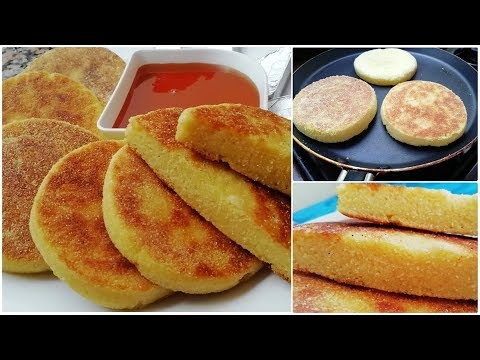 harcha-galette-de-semoule-marocaine-facile-et-rapide-à-faire---ramadan2019-cuisine-marocaine