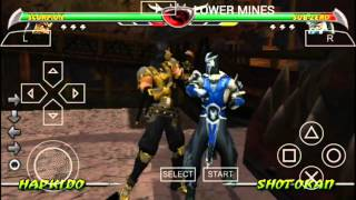 Mortal Kombat Unchained Android Stage Fatalities