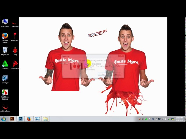 How can apply 3d color effect-by photoshop ps (bangla tutorial)