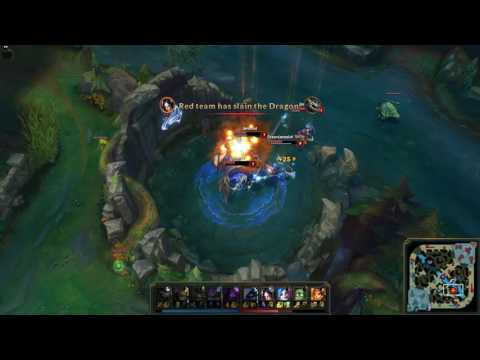 League of Legends - Ranked - Against a Super Team (27.09.2016)