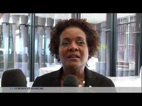 Dakar 2014: Première interview de Michaëlle Jean #sfdk2014