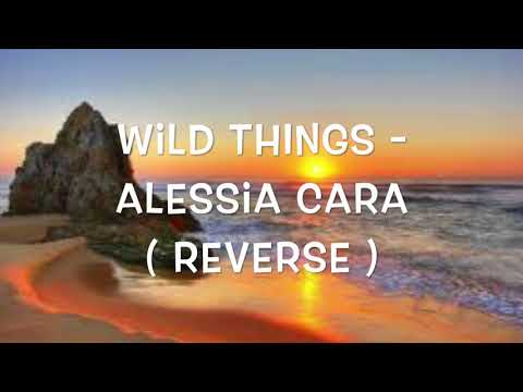 Reverse Version of WildThings - Alessia Cara