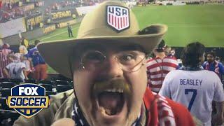 Jurgen Meter: USA fans thrilled after 1-0 win