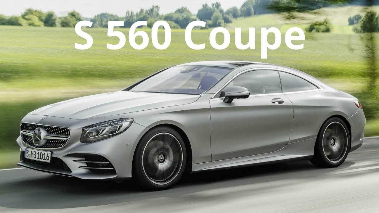 2018 mercedes s 560 4matic coupe breathtaking performance and driving sophistication youtube. Black Bedroom Furniture Sets. Home Design Ideas