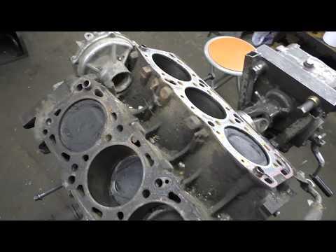 Двигатель Mitsubishi 6G72 3.0 L V-6 (Обзор конструкции)