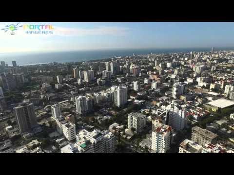 Video 360 grados de la ciudad de Santo Domingo a las 8:40am