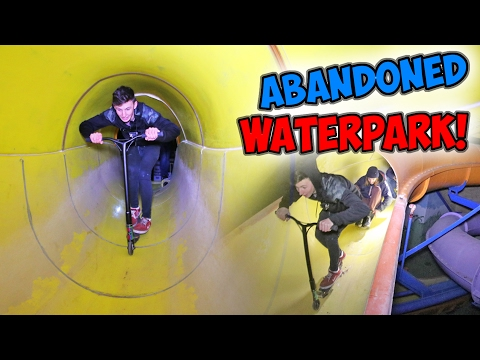ABANDONED WATER PARK FUN! *SLIDES*