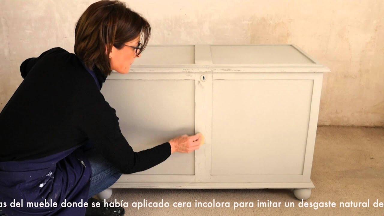 Renovar mueble con Chalk Paint - YouTube