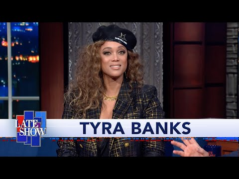 Tyra Banks, Inventor Of The Smize, Teaches Stephen Colbert How To Nail The Look