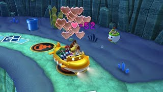 Mario Party 10 Bowser Party #257 Donkey Kong, Mario, Luigi, Wario Whimsical Waters Master Difficulty