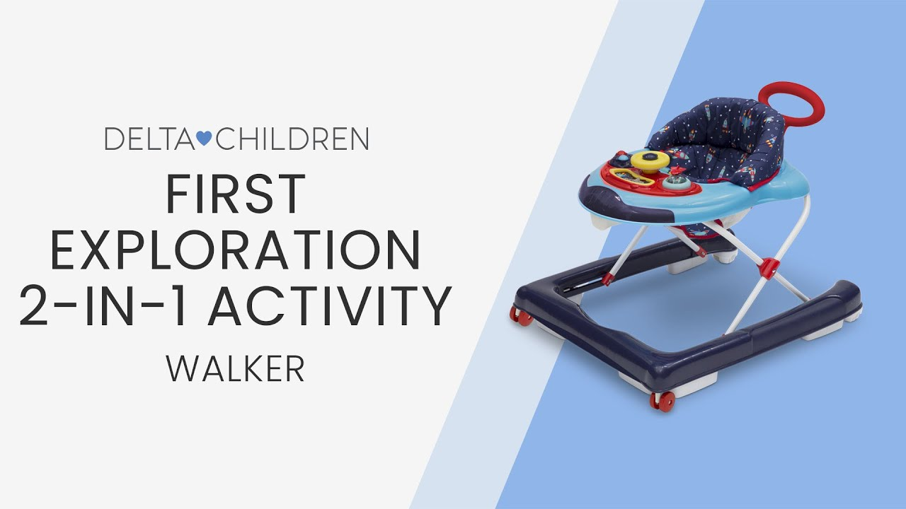 1aa9f9c9a6cc Delta First Exploration 2-in-1 Activity Walker (by Delta Children ...