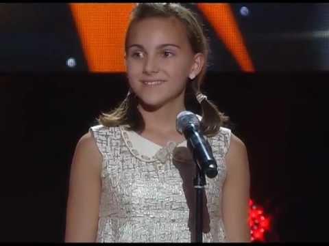 """Sophie in the german ZDF tv-show """"Heiligabend mit Carmen Nebel"""" at Dec.24, 2012"""