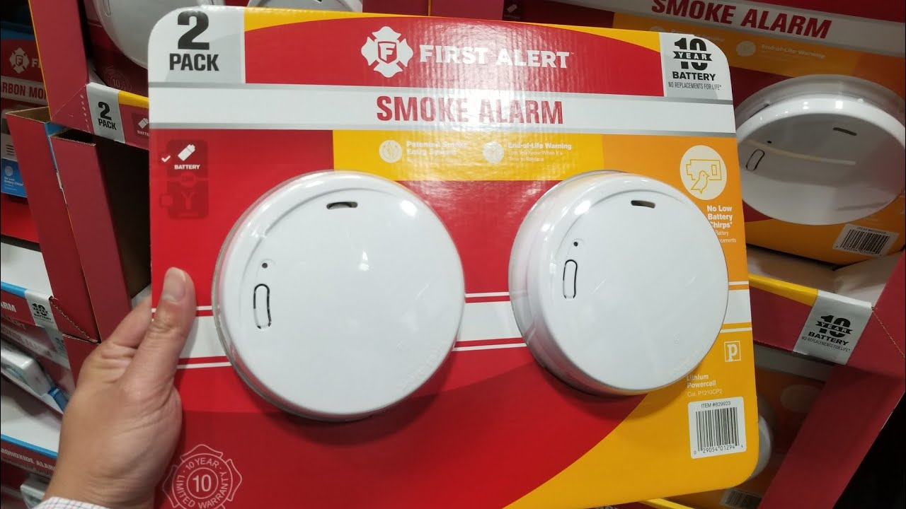 Replacing First Alert 10 Year Smoke Alarm Only After 1 5 Years Youtube