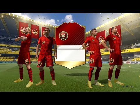 THE BIGGEST TOP 100 MONTHLY PACK OPENING EVER! - FIFA 17 Ultimate Team