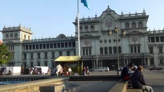 Parque Central, Ciudad de Guatemala, marzo 2013
