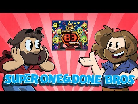 One and Done Bros: Game Expo B3 For Bees | Let's Play | Super Beard Bros.