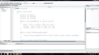 c programming 44 creating class libraries