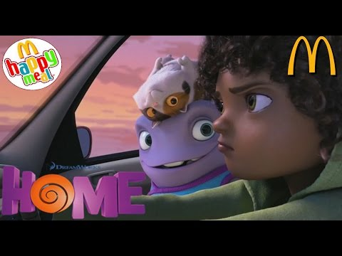 McDONALDS KIDS HAPPY MEAL 10 th OH ! DREAMWORKS HOME FILM SURPRISE TOY OPENING