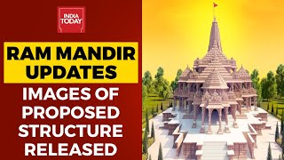 Ram Mandir Updates: Proposed Structure Of Ram Temple in Ayodhya Released By Teerth Kshetra
