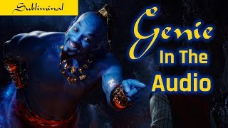 Grant Your Wishes Subliminal Affirmations - Genie in the Audio