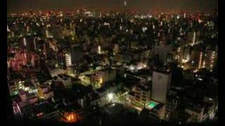Tokyo at night, time lapse photography video