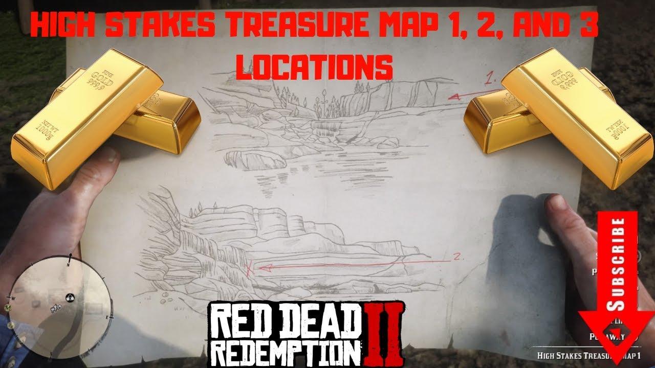 high stakes treasure map