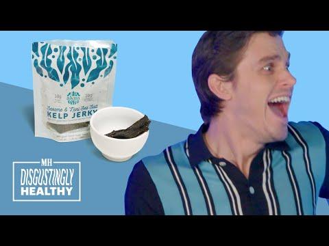 The Queer Eye Guys Try Earthworm Jerky | Disgustingly Healthy | Men's Health