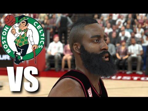 NBA 2K17 Gameplay - Boston Celtics vs. Houston Rockets - Play Now Online - Season 1 Ep. 5